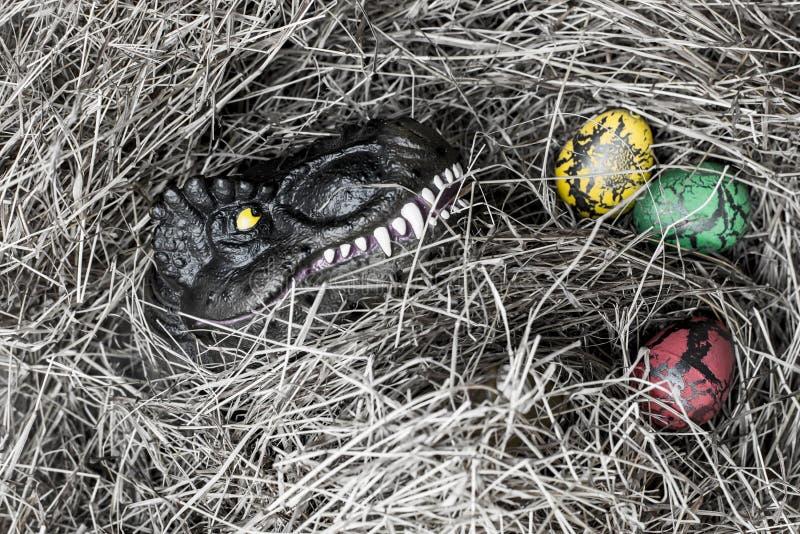 Δεινόσαυρος και αυγό στοκ εικόνες