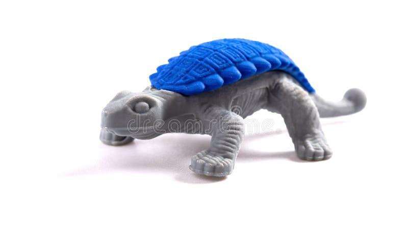 Δεινόσαυρος παιχνιδιών στο άσπρο υπόβαθρο στοκ εικόνες με δικαίωμα ελεύθερης χρήσης