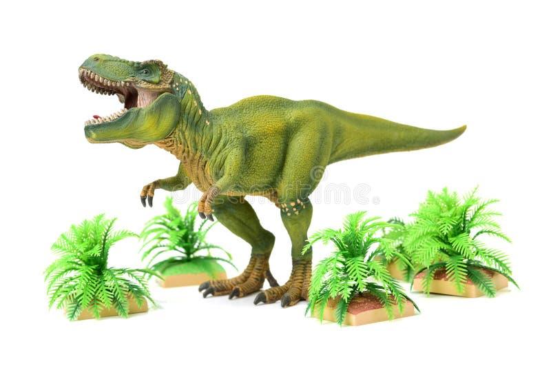 Δεινόσαυρος πυροβολισμού στοκ εικόνα