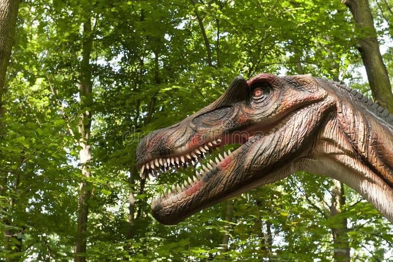 δεινόσαυρος το επικεφαλής s στοκ φωτογραφία