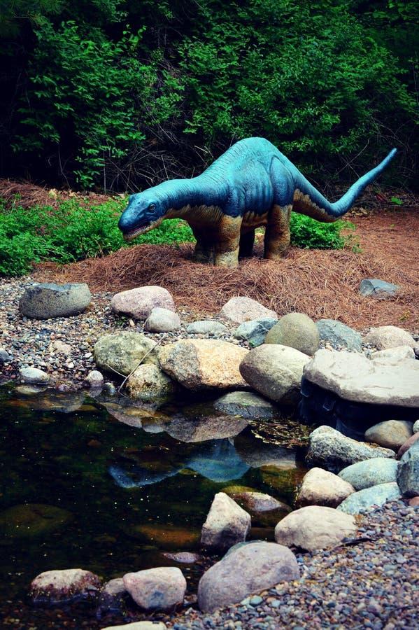 Δεινόσαυρος Amygdalodon στοκ φωτογραφία με δικαίωμα ελεύθερης χρήσης