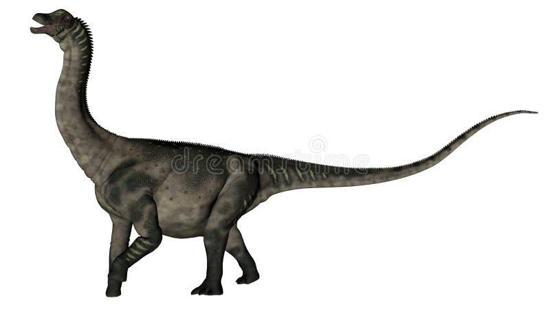 Δεινόσαυρος Antarctosaurus - τρισδιάστατος δώστε διανυσματική απεικόνιση