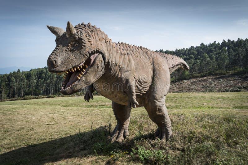 Δεινόσαυρος Carnotaurus στοκ φωτογραφία με δικαίωμα ελεύθερης χρήσης