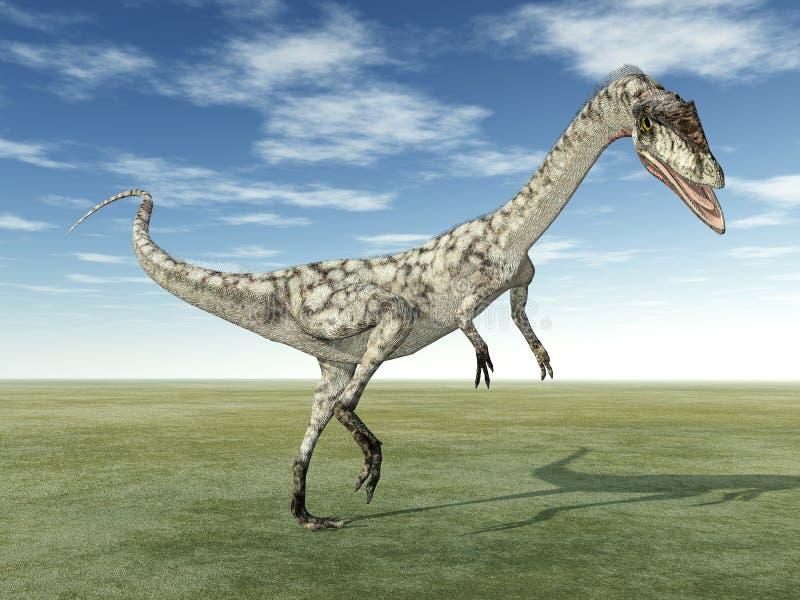 Δεινόσαυρος Coelophysis απεικόνιση αποθεμάτων