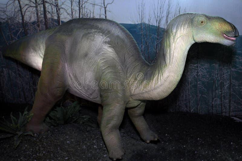 Δεινόσαυρος Iguanodon από την κρητιδική περίοδο στοκ εικόνες με δικαίωμα ελεύθερης χρήσης