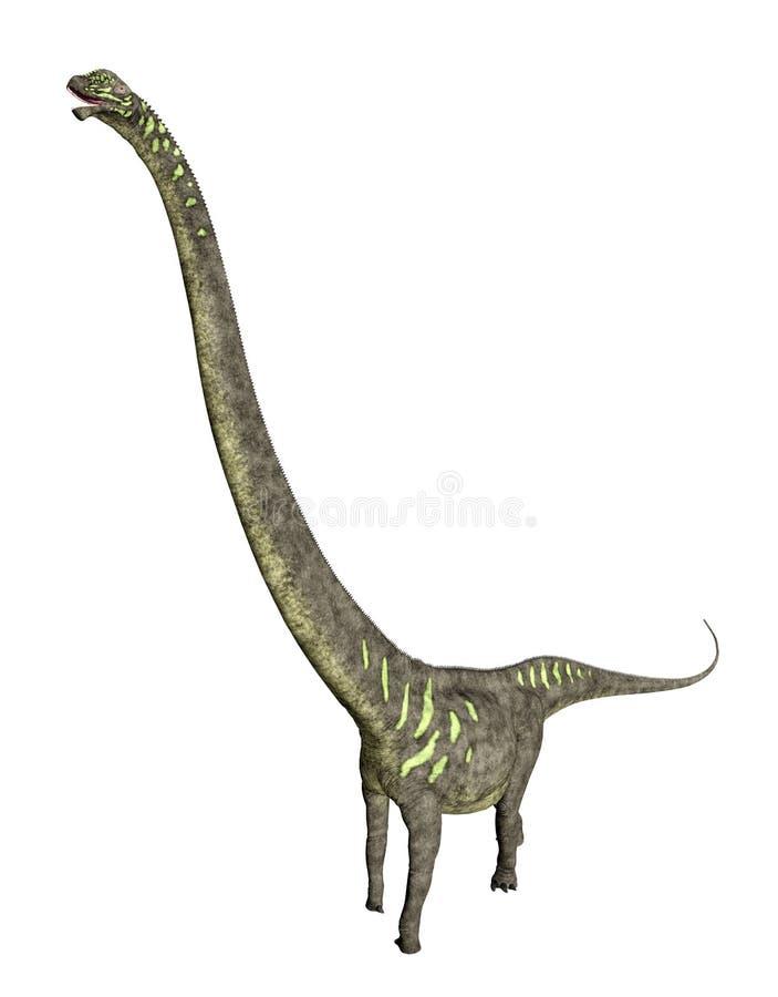 Δεινόσαυρος Mamenchisaurus διανυσματική απεικόνιση