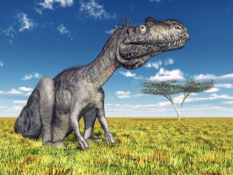 Δεινόσαυρος Megalosaurus ελεύθερη απεικόνιση δικαιώματος