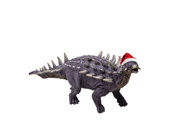 Δεινόσαυρος Polacanthus στο άσπρο υπόβαθρο στοκ φωτογραφία με δικαίωμα ελεύθερης χρήσης