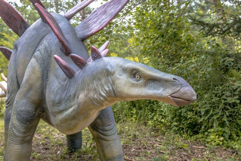 Δεινόσαυρος Stegosaurus στοκ εικόνες με δικαίωμα ελεύθερης χρήσης