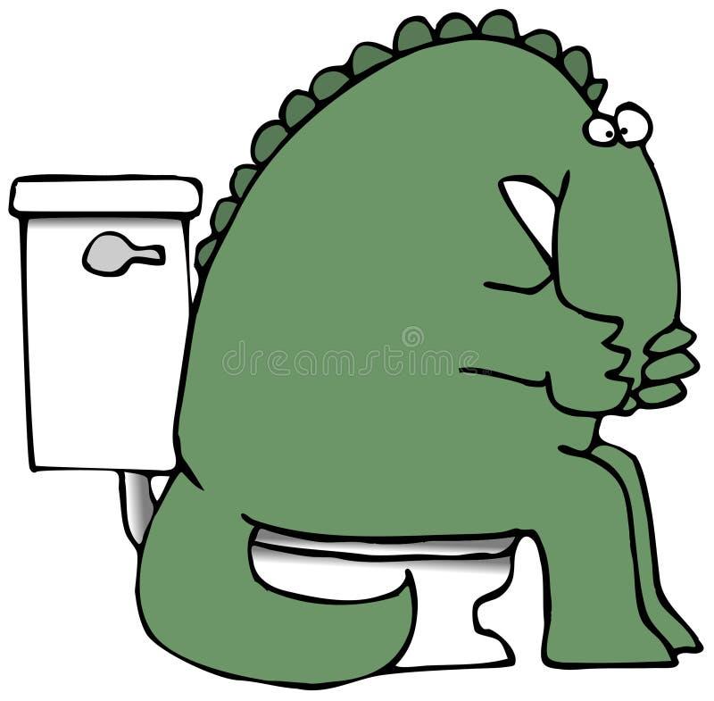 δεινόσαυρος stinky διανυσματική απεικόνιση