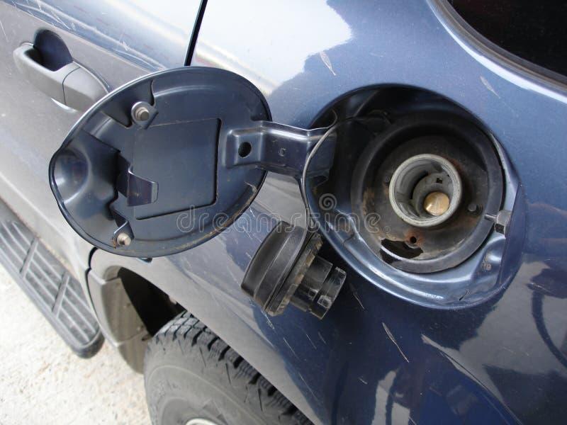δεξαμενή αερίου πορτών στοκ φωτογραφία