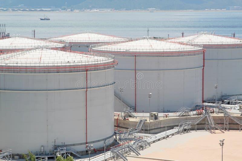 Δεξαμενή αερίου στοκ φωτογραφίες