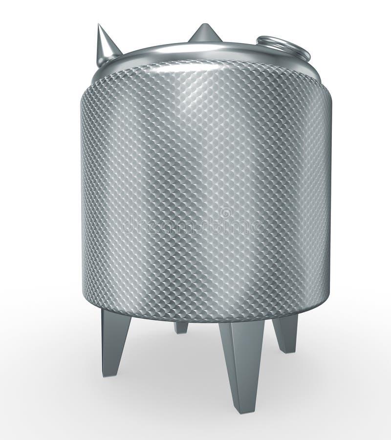 δεξαμενή ανοξείδωτου πίεσης απεικόνιση αποθεμάτων