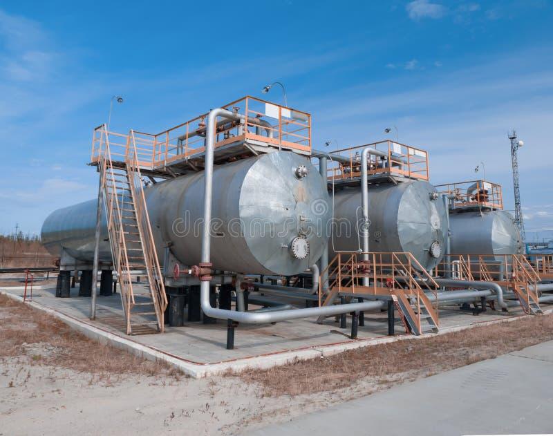 Δεξαμενή πετρελαίου στοκ φωτογραφία