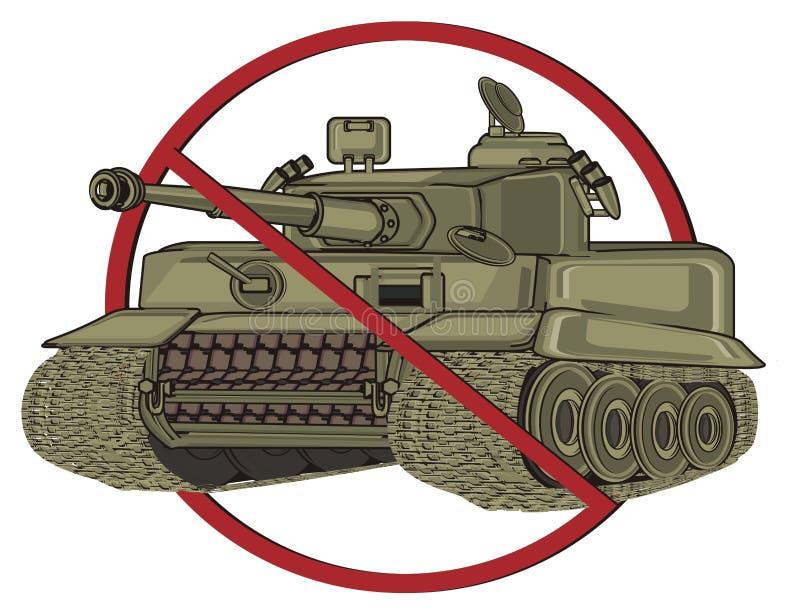 Δεξαμενή στην απαγόρευση ελεύθερη απεικόνιση δικαιώματος