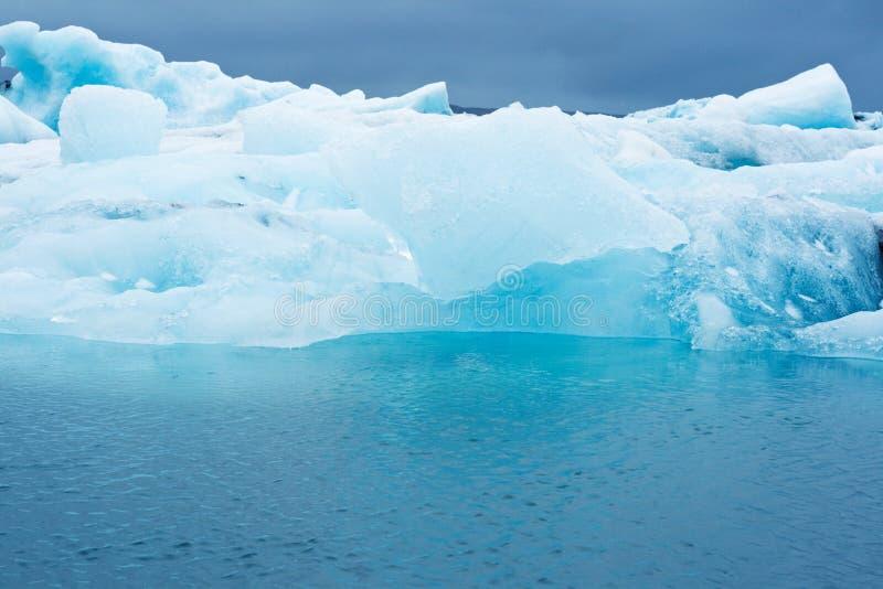 δεξαμενή χώνευσης παγετώ&n στοκ φωτογραφίες