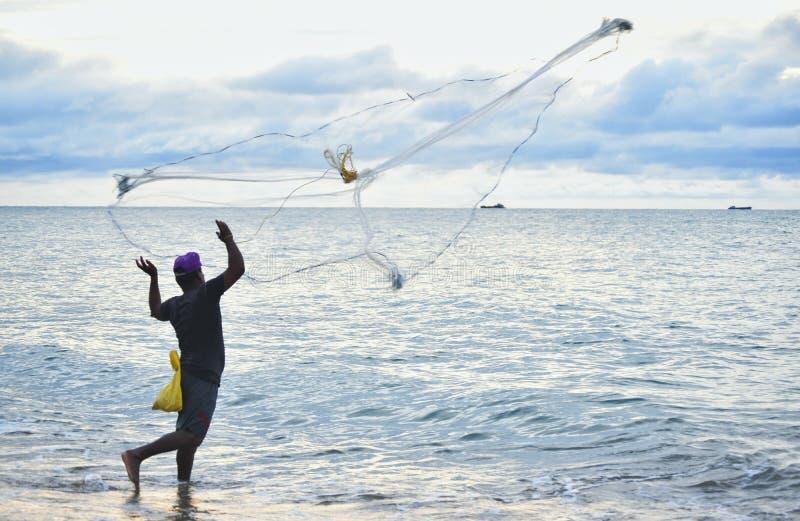 Δεξιότητες αλιείας ομορφιάς στοκ εικόνα με δικαίωμα ελεύθερης χρήσης
