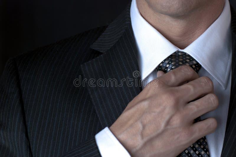 δεσμός επιχειρηματιών ρύθ&mu στοκ φωτογραφία με δικαίωμα ελεύθερης χρήσης
