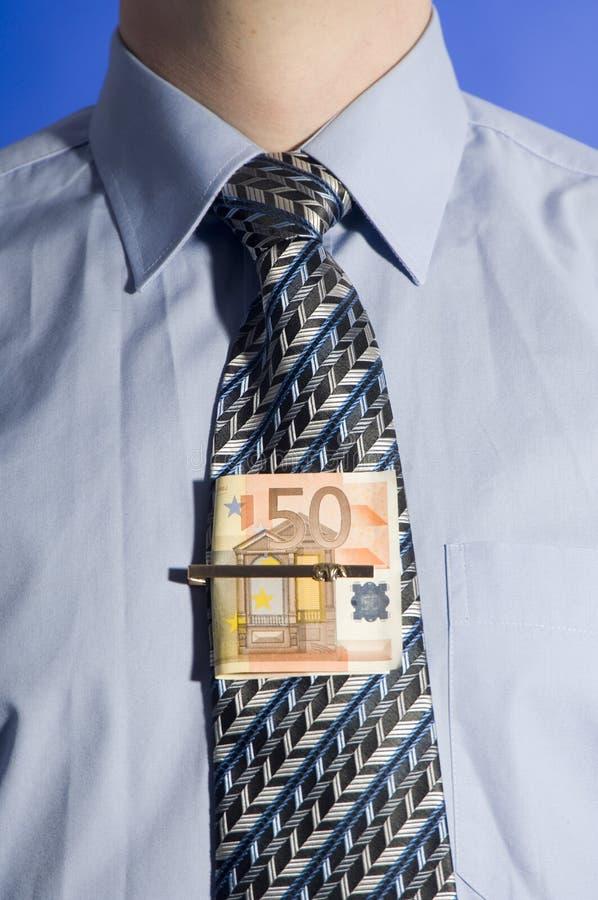 δεσμός χρημάτων που δένετα στοκ φωτογραφία με δικαίωμα ελεύθερης χρήσης