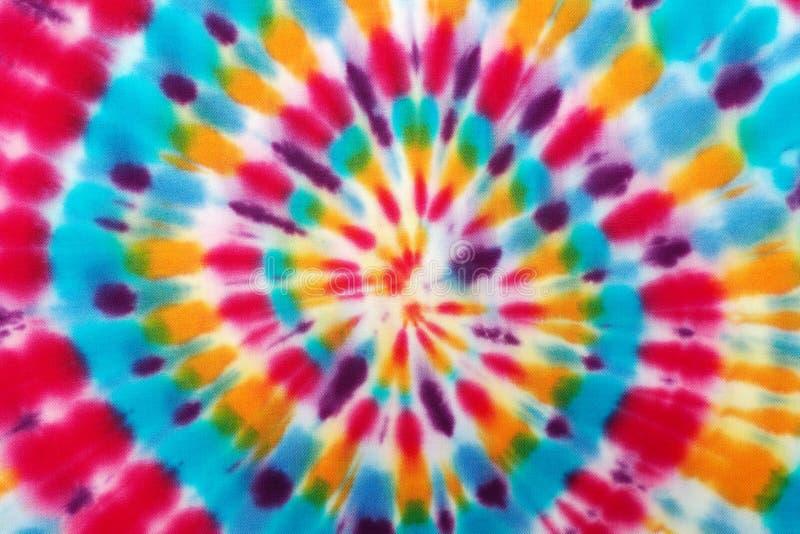 Δεσμός-χρωστική ουσία υφάσματος θαμπάδων στοκ φωτογραφία με δικαίωμα ελεύθερης χρήσης