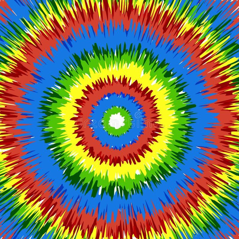 δεσμός χρωστικών ουσιών ανασκόπησης διανυσματική απεικόνιση