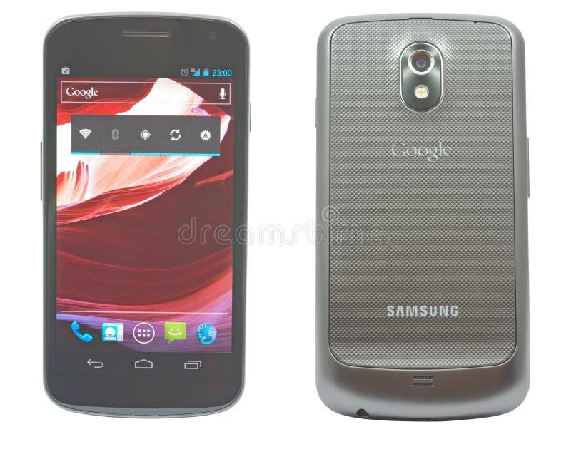 δεσμός Samsung γαλαξιών google στοκ εικόνες