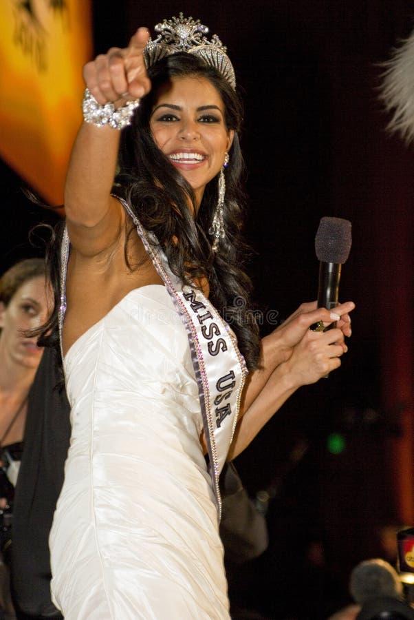 δεσποινίδα ΗΠΑ του 2010 στοκ φωτογραφία με δικαίωμα ελεύθερης χρήσης