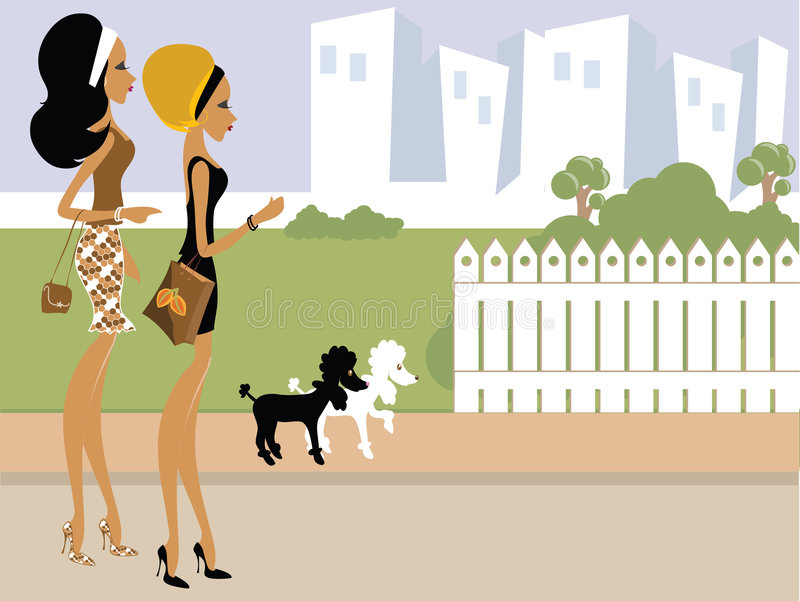 δεσποινίδα boo διανυσματική απεικόνιση