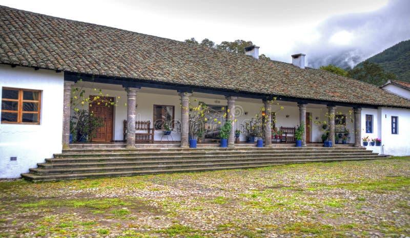Δευτερεύον τμήμα ενός παλαιού hacienda στοκ φωτογραφίες με δικαίωμα ελεύθερης χρήσης