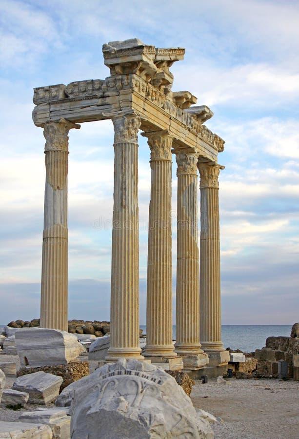 δευτερεύων ναός Τουρκία στοκ φωτογραφίες με δικαίωμα ελεύθερης χρήσης