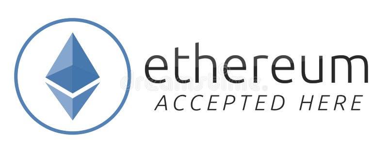 Δεχόμαστε το ethereum απεικόνιση αποθεμάτων
