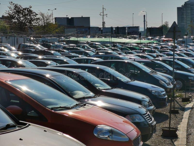 Δεύτερη ζωή των χρησιμοποιημένων αυτοκινήτων στοκ φωτογραφίες με δικαίωμα ελεύθερης χρήσης