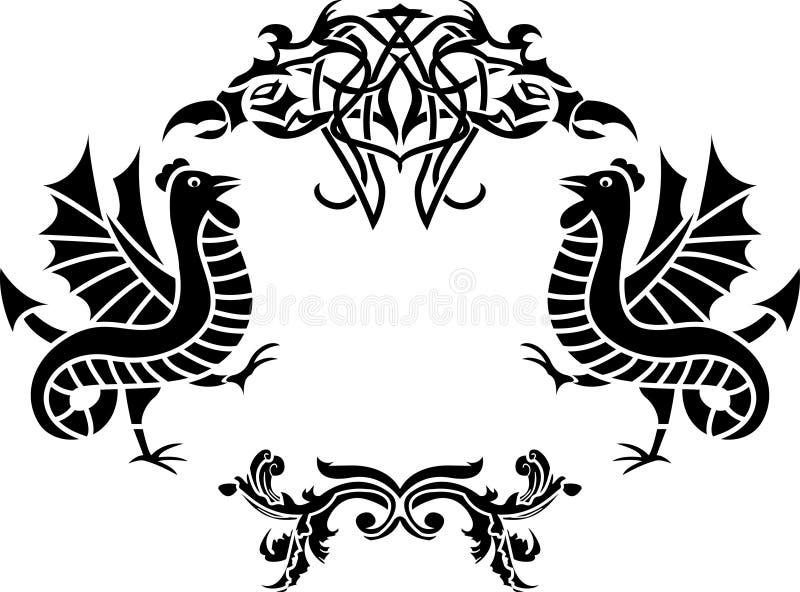 Download δεύτερη παραλλαγή πλαισί διανυσματική απεικόνιση. εικονογραφία από floral - 17056459