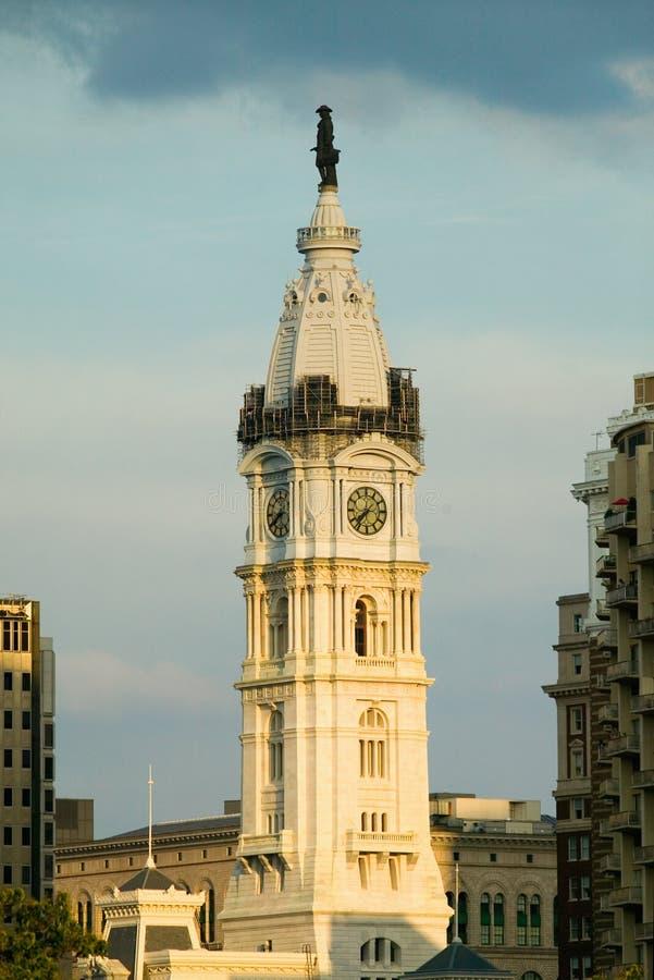 Δημαρχείο με το άγαλμα του William Penn στην κορυφή, Φιλαδέλφεια, Πενσυλβανία κατά τη διάρκεια της ζωντανής συναυλίας 8 στοκ φωτογραφίες με δικαίωμα ελεύθερης χρήσης