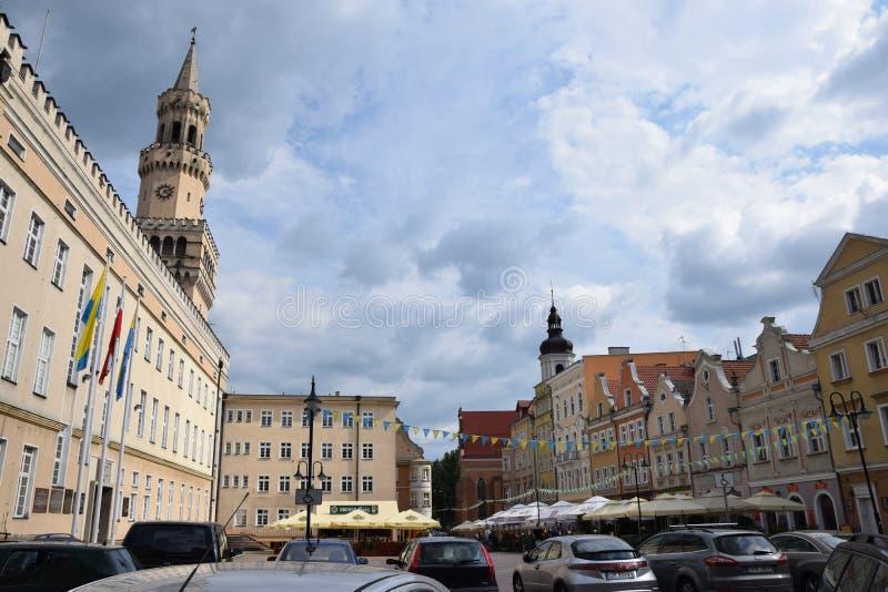 Δημαρχείο σε Opole στοκ εικόνα