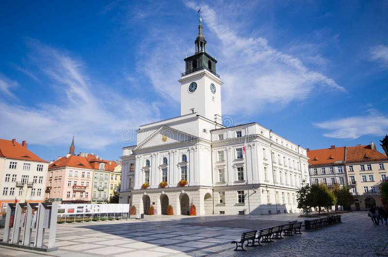 Δημαρχείο του Καλίζ, Πολωνία στοκ εικόνες