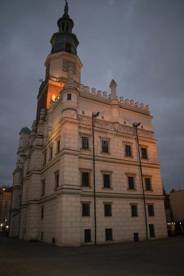 Δημαρχείο του Πόζναν στοκ φωτογραφία