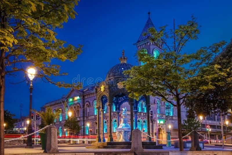 Δημαρχείο dun laoghaire Νομός Δουβλίνο Ιρλανδία στοκ φωτογραφίες