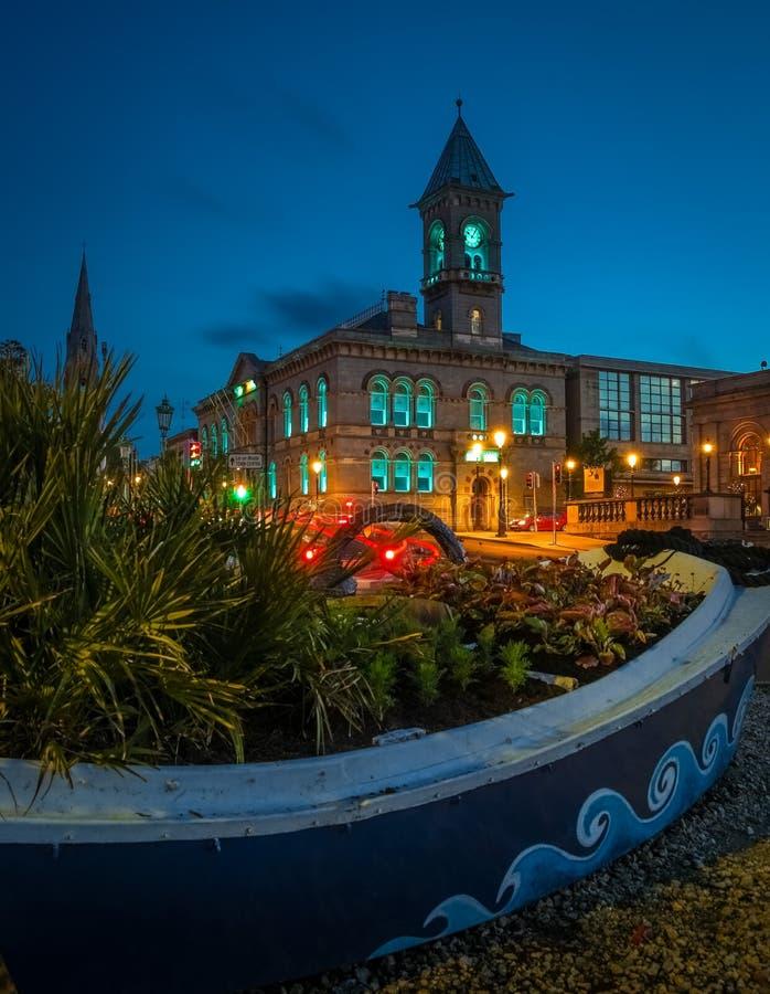 Δημαρχείο dun laoghaire Νομός Δουβλίνο Ιρλανδία στοκ εικόνες