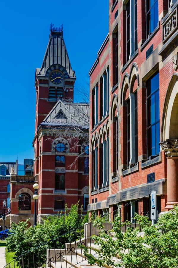 Δημαρχείο, Fredericton, Νιού Μπρούνγουικ, Καναδάς στοκ εικόνα με δικαίωμα ελεύθερης χρήσης