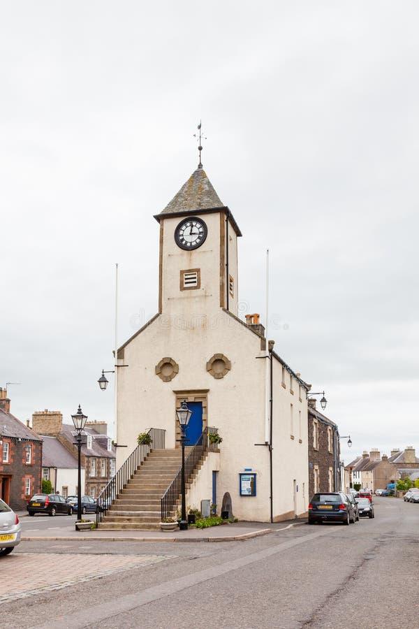 Δημαρχείο Lauder στα σκωτσέζικα σύνορα στοκ φωτογραφία με δικαίωμα ελεύθερης χρήσης