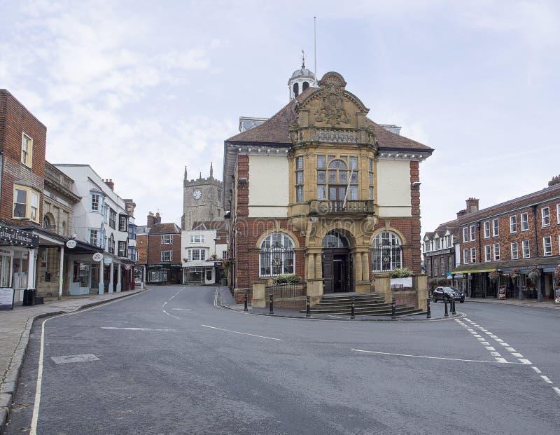 Δημαρχείο Marlborough στοκ φωτογραφίες