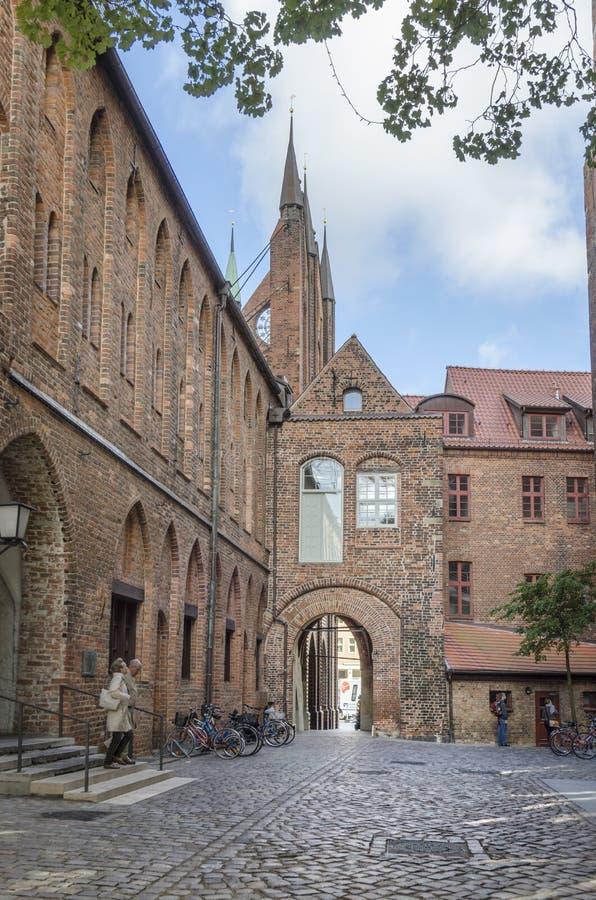 Δημαρχείο, Stralsund, Γερμανία στοκ εικόνες
