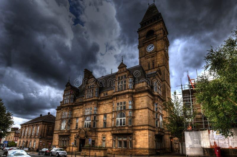 Δημαρχείο Wakefield στοκ φωτογραφίες με δικαίωμα ελεύθερης χρήσης