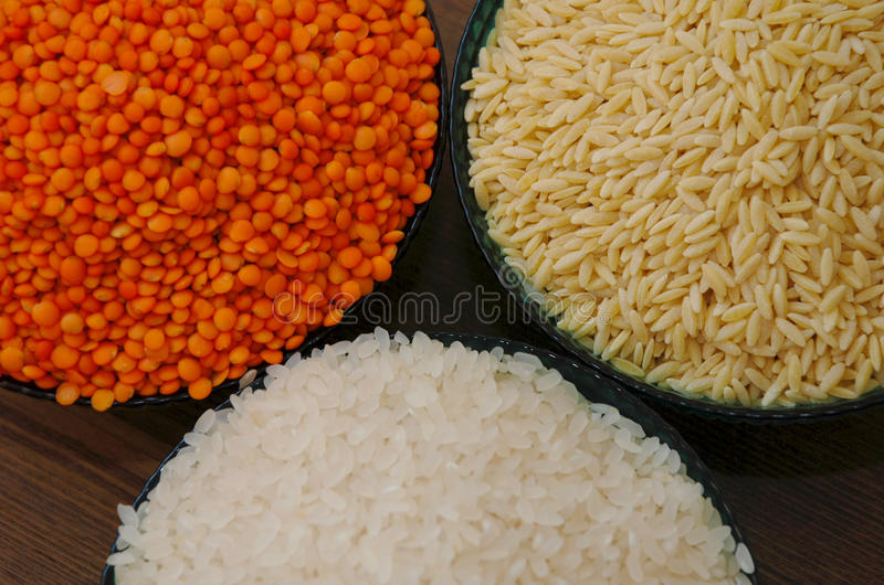 Δημητριακά και όσπρια στοκ φωτογραφία