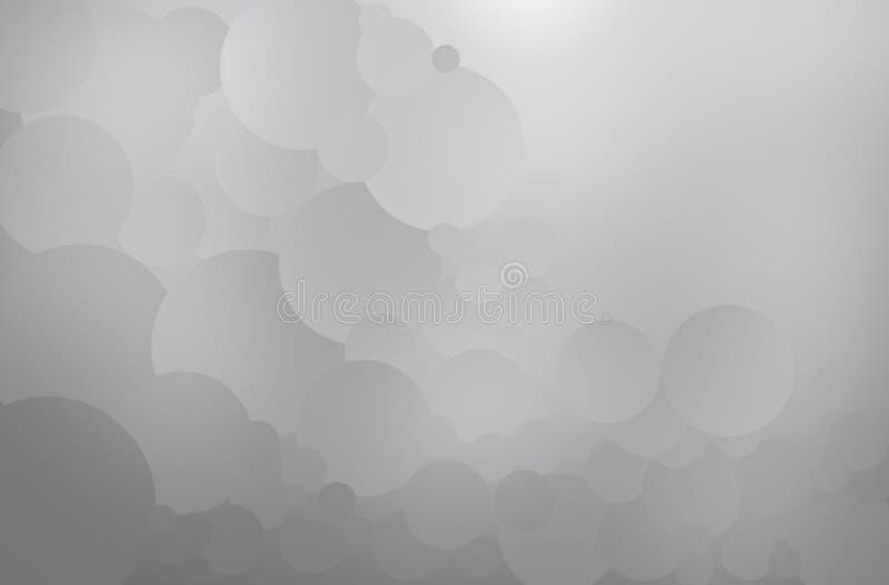 Δημιουργήστε τον αφηρημένο γκρίζο κύκλο απεικόνιση αποθεμάτων