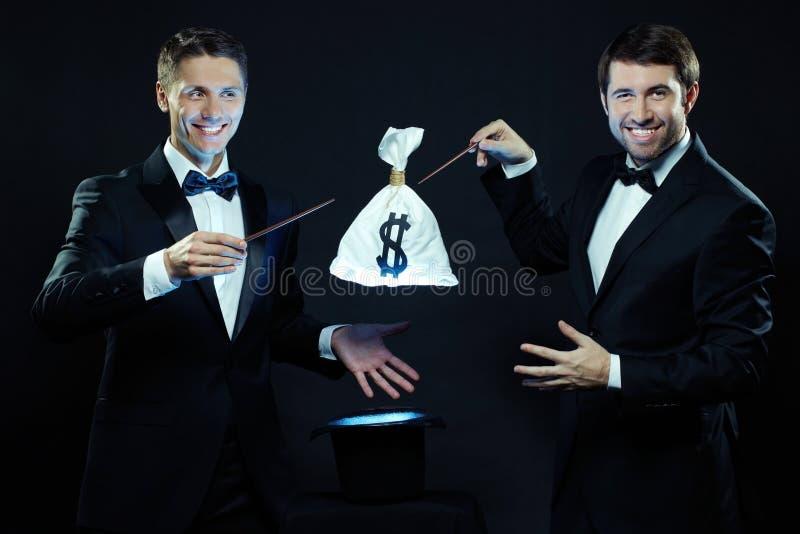 Δημιουργία του σάκου χρημάτων στοκ φωτογραφία με δικαίωμα ελεύθερης χρήσης