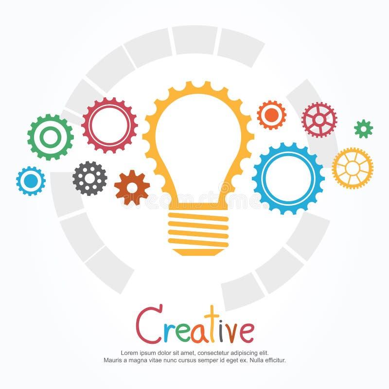 Δημιουργικά λάμπα φωτός και εργαλείο απεικόνιση αποθεμάτων