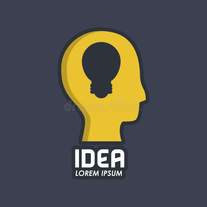 Δημιουργικές μυαλά και ιδέες ελεύθερη απεικόνιση δικαιώματος