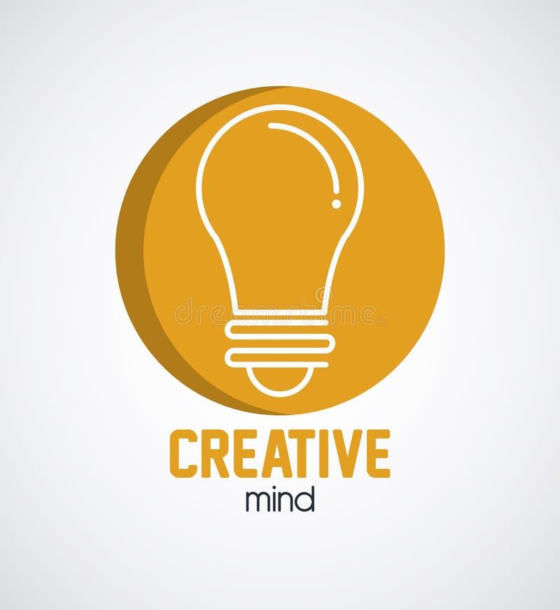Δημιουργικές μυαλά και ιδέες διανυσματική απεικόνιση